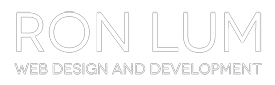 Ron Lum Web Design Logo