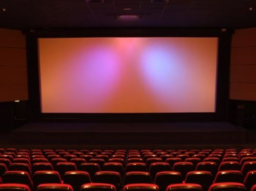 """""""I love sitting in the front row at the movies"""" - No One"""