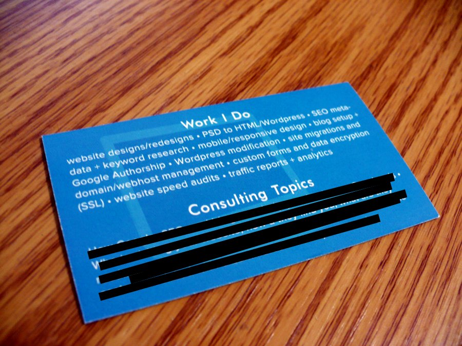 Where Can I Print Business Cards Online? : Hawaii Web Design